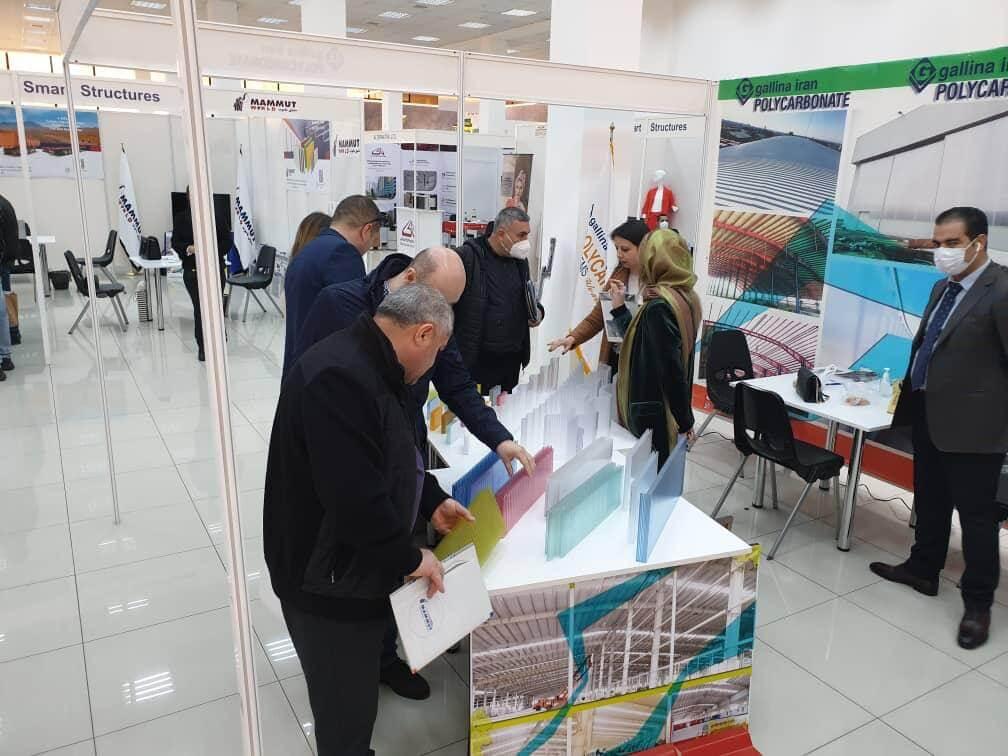 حضور سفیر ایران در غرفه گالینا ایران در ارمنستان