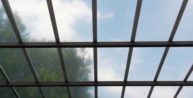 کاربرد پلی کربنات در سقف