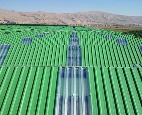 پلی کربنات ، پلی کربنات خارجی ، پلی کربنات کروگیت ، پلی کربنات سقفی